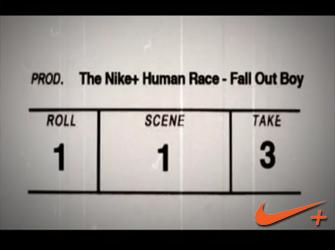 The Nike+ Human Race – Fallout Boy